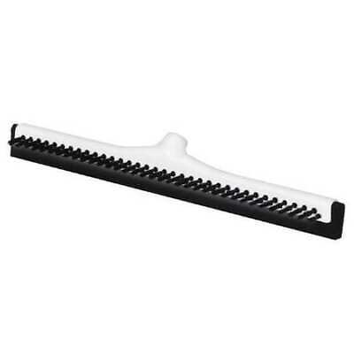 "RUBBERMAID FG9C4200BLA Floor Squeegee,Straight Double,18"" W"