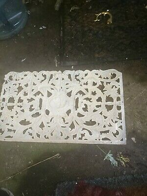 Antique Castiron Grate Eagle