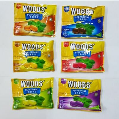 Wood Cough Drop Relief Candy Sweets Assorted FLAVOR (3pax) Free Shipping