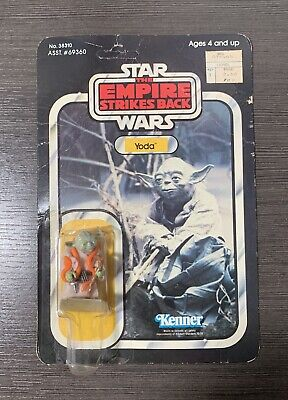 Vintage Star Wars Yoda Mint On Empire Strikes Back ESB41B Card MOC Complete