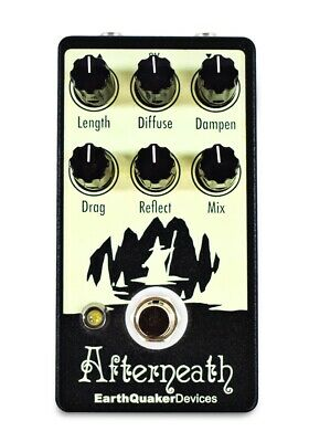 EarthQuaker Devices Afterneath - Reverb -Guitar Effects Pedal V1