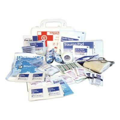 Impact 7317 10-person First Aid Kit, 62 Pieces, 8.5 X 5.5 X 3.25, Plastic Case