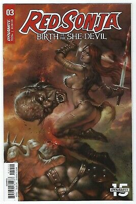Red Sonja Birth Of A She Devil # 3 Cover A Dynamite NM Pre Sale Ships Aug 14th