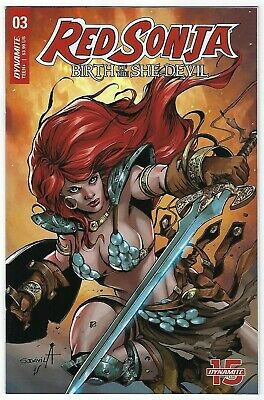 Red Sonja Birth Of A She Devil # 3 Cover B Dynamite NM Pre Sale Ships Aug 14th