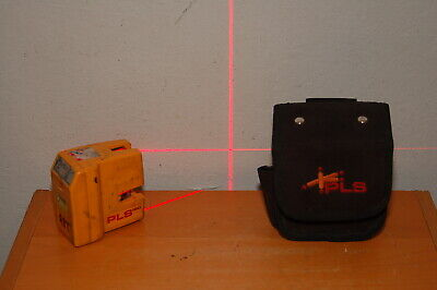 PLS 180 laser level, Red Beams PACIFIC LASER SYSTEM w/ Case
