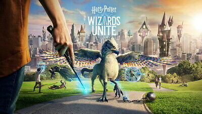 "001 Harry Potter Wizards Unite - Fighting USA Movie 24""x14"" Poster"