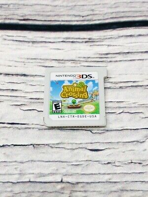 Animal Crossing: New Leaf (Nintendo 3DS, 2013) - GAME ONLY