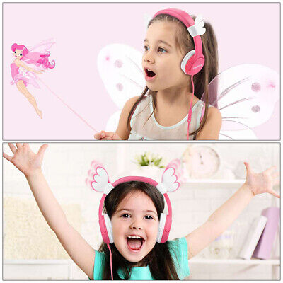 Children Kids Headphones 80-85dB Hearing Protection Baby Wired Headset ng16