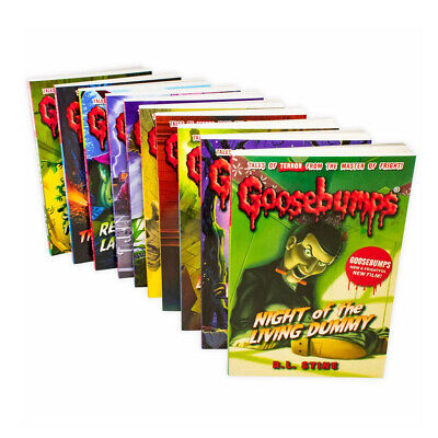 Goosebumps Series 9 Books Collection Set By R. L. Stine Paperback NEW