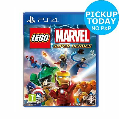 LEGO Marvel Super Heroes Sony Playstation PS4 Game 7+ Years