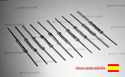 10x Interruptor Reed Switch Magnético 14x2mm N/O Normalmente Abierto 100v 0.5A