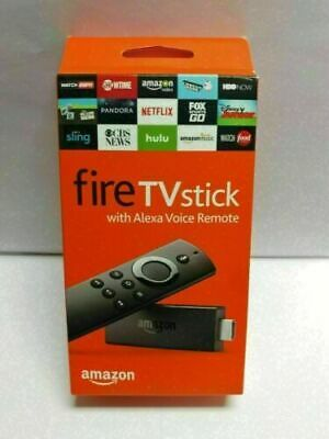 New Amazon Fire TV Stick with Alexa Voice Remote Streaming 2nd Gen  #