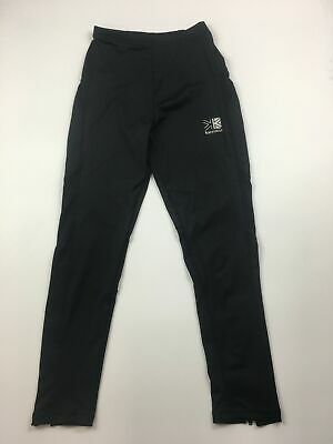 Girls Karrimor Black Fitness Running Leggings Sports Trousers Age 7/8 Years