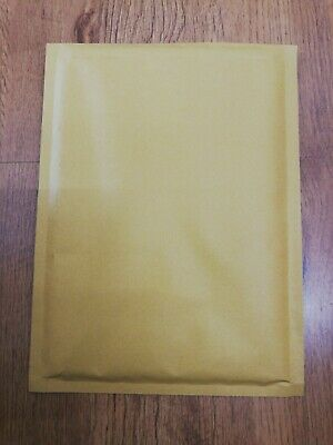 Gold padad bubble envelope size 4(D/1) 265 X 180mm  500 envelops cheap