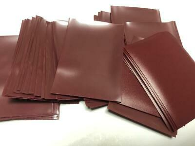 100pcs/Pack DECK PROTECTOR Card Sleeves 66mm*91mm Winered color + Glossy