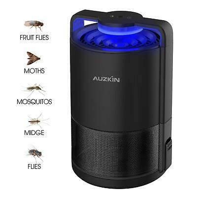 AUZKIN Indoor Insect Trap Mosquito Killer USB Powered Insect Killer Lamp Flying