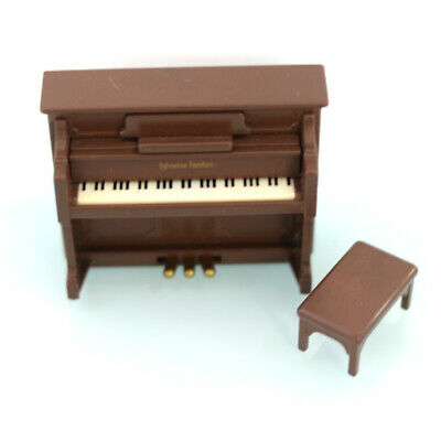 Calico Critters Sylvanian Families Grand Piano White RARE from Japan