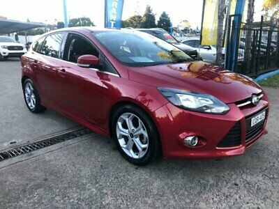 2014 Ford Focus LW MkII Sport Red Automatic A Hatchback