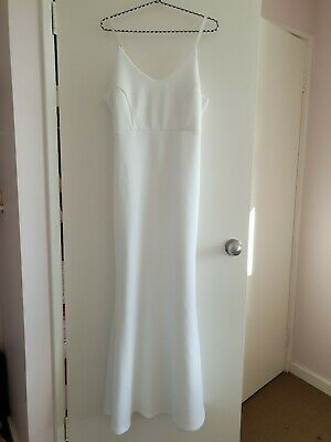 Stunning Mermaid Body Contour Wedding Dress,Summer Bride Wedding Dress Size 16