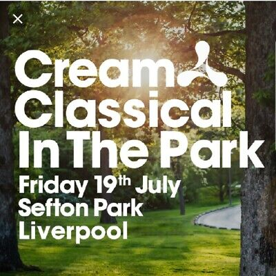 4 X Cream Classical In The Park Tickets