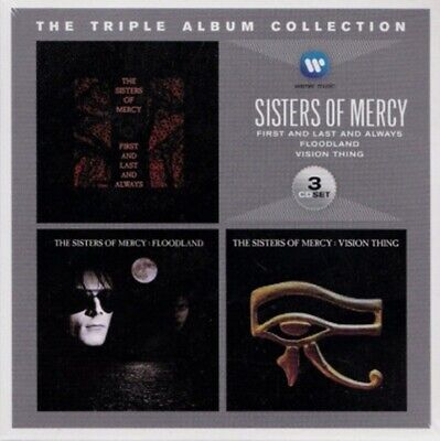 The Triple Album Collection 3 CD Sisters Of Mercy