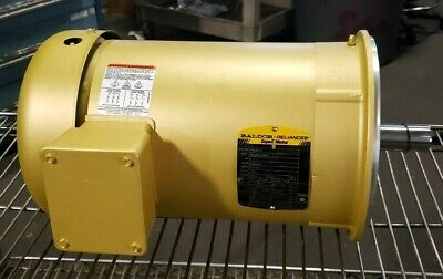New Baldor 3 Hp Super E Motor 230/460 Vac 1760 Rpm 182Tc 3 Ph Tefc Vem3611T