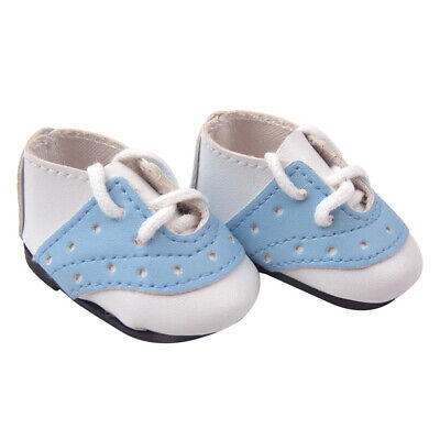 MagiDeal 1Pair PU Leather Shoes fits Mellchan 14.5inch Baby Dolls Dress Up