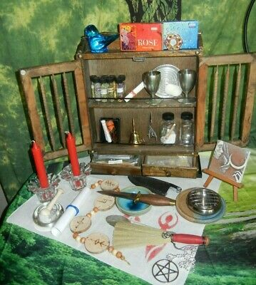 ALTAR SET UP & BLESSING, Book of Shadows Pages, Wicca, Witchcraft