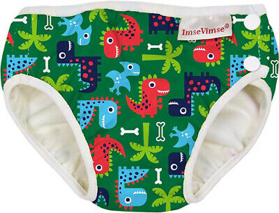 20-26 pounds - Large, Pink Leopard with Frill Imse Vimse Swim Diaper