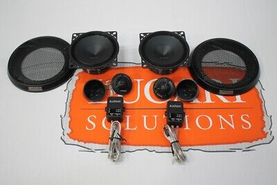 Audison Stage 1 component speaker + tweeter upgrade set Fits Land Rover Defender