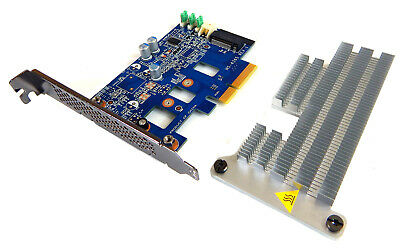 DELL ULTRA-SPEED DRIVE Quad PCIe x16 Adapter Card Up to 4x NVMe M 2