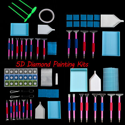 5D Diamond Painting Kits Embroidery Accessories Rhinestone Boxes Correction pen