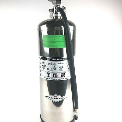 New Amerex 240, 2.5 Gallon Water Class A Fire Extinguisher