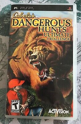 Cabela's Dangerous Hunts: Ultimate Challenge (Sony PSP, 2006)