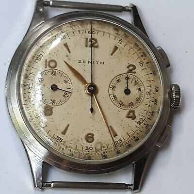 VINTAGE ZENITH CHRONOGRAPH CAL 156 LARGE MODEL 39,5mm