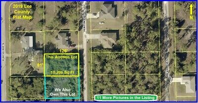FLORIDA 1 of 2 LOTS Lehigh Acres Land Cape Coral Fort Myers Charlotte Naples fl