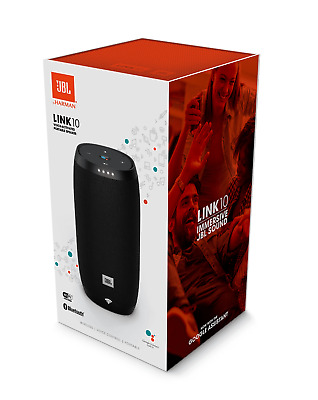 JBL Link 10 Portable Wireless Smart Sound Speaker - Black - Brand