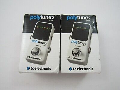 Lot of 2 New PolyTune 2 Mini's by Tc electronic - 4578