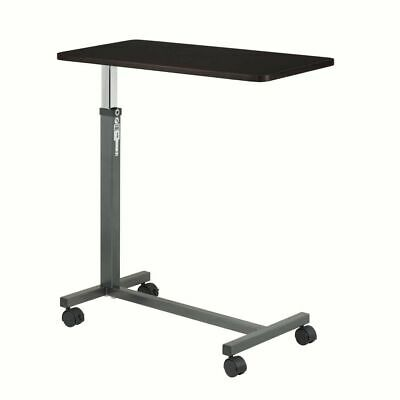 Over the Bed Side Table Wheels Hospital Over bed Rolling Tray Adjustable Bedside
