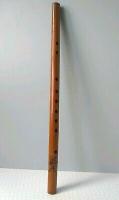 Vintage Chinese Wooden Flute