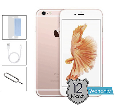 Apple iPhone 6s 32GB Unlocked Rose Gold - Very Good Condition