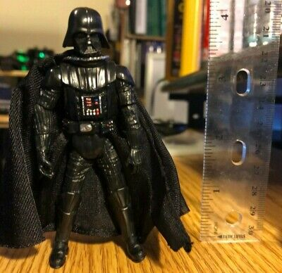 """Star Wars Darth Vader 4"""" Action Figure New but Loose.  Realistic w/ cloth cape"""