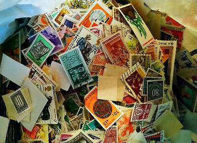 WORLDWIDE USED STAMPS (( OFF PAPER ))  COLLECTION (( 500 stamps ))