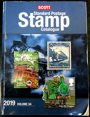 USED - Scott Stamp Catalog 2019 Volume 3A & 3B - COUNTRIES G-I