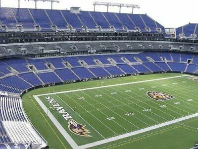 2 New England Patriots at Baltimore Ravens tickets, Sect. 545, row 19, 11/3/19