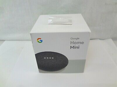 Google Home Mini Smart Speaker with Google Assistant - Charcoal (GA00216-US)