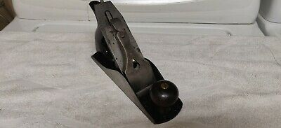 Antique Stanley Bailey No. 4 Smoothing Plane, Stanley Iron, Type 10
