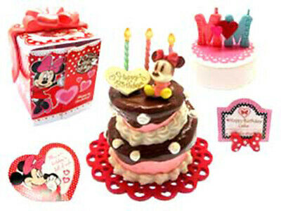 Re-ment Miniatures Disney Lovely Party Happy Birthday Gift Cake rement No .03