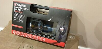 "PARKSIDE Inspection Camera With Display TFT-LCD 2.7"" Cars Drains Anything BNIB"