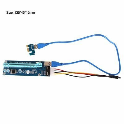 Mining Graphics Card PCI-E To PCIE 1X To 16X PCE164P-NO3 Power Supply USB  HS